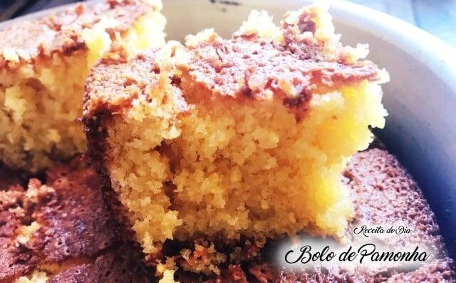 Receita de bolo pamonha