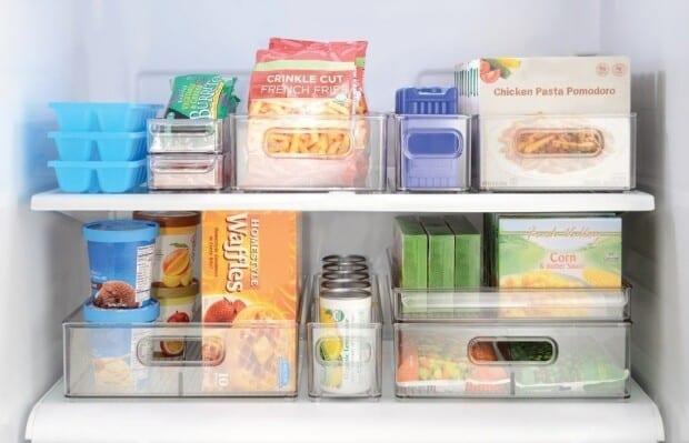 Como organizar o freezer