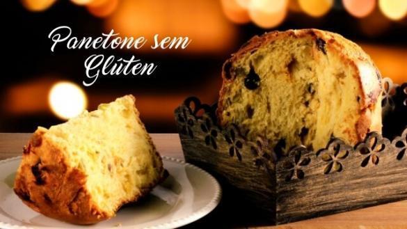 Receita de panetone sem gluten