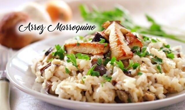 Receita de arroz Marroquino