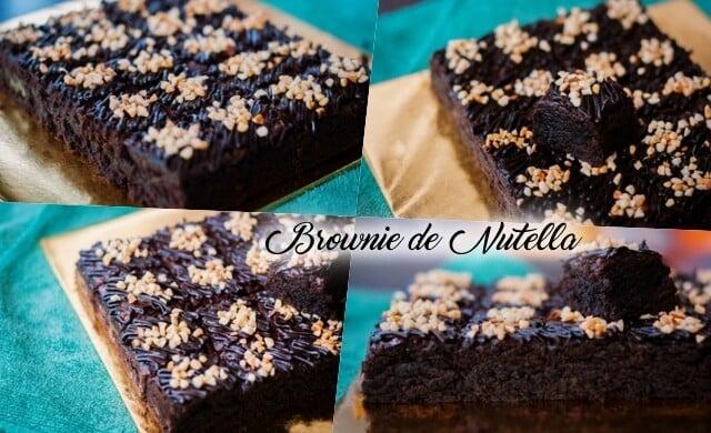 Brownie de Nutella: simples e rápida