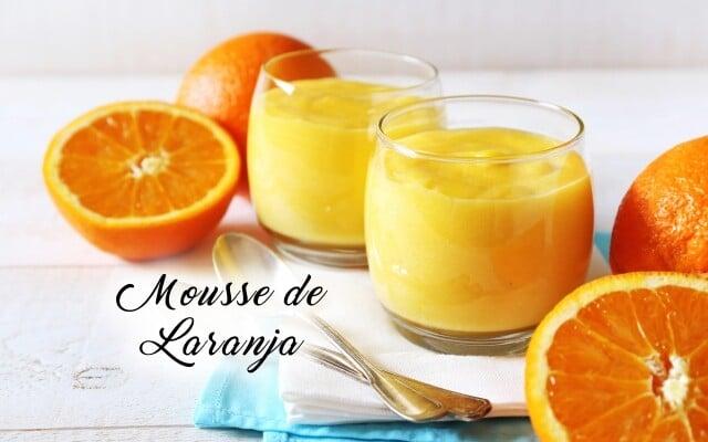 Receita de Mousse de Laranja