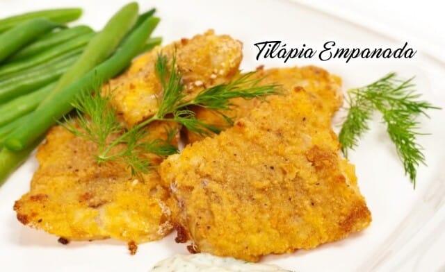 Tilápia Empanada bem sequinho e fácil receita
