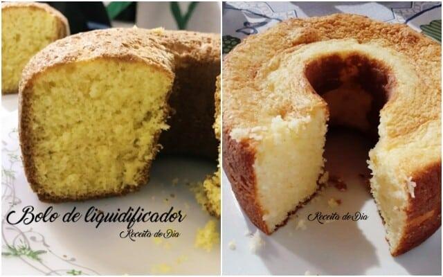 Melhores receitas de bolos feitos no liquidificador