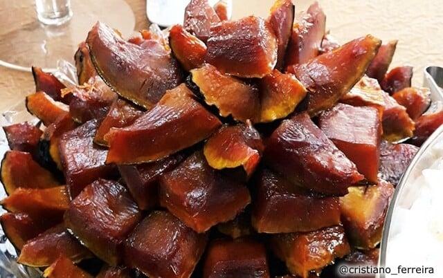 Receita de Moranga caramelizada