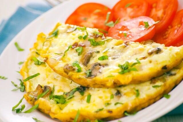 Receitas de omelete